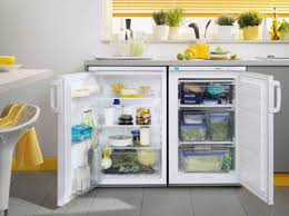 Idea Is To Put This Under Counter Freezer Fridge Combo In An
