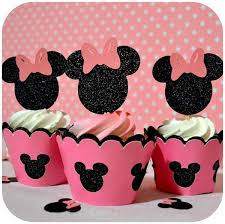 Pink And Black Minnie Mouse Decorations Cute Minnie Mouse Party Ideas For Kids Hative