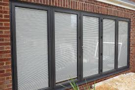 Double Glazed Units With Integral Blinds Prices Integral Blinds Fitted In Bi Folding Door Units Midland Bi Folds