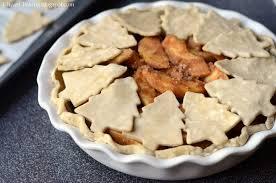 i heart baking christmas tree cutout apple pie