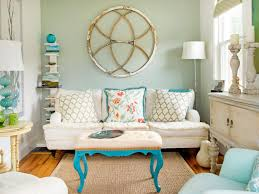 blue livingroom color theory and living room design hgtv