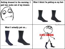Pantyhose Meme - putting on black socks in the morning navy memes clean