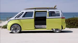 volkswagen type 5 vw u0027s adorable i d buzz charms us on the california coast