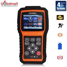 check engine light tool foxwell nt415 epb abs srs can obdii diagnostic scan tool turn off