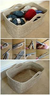 Free Crochet Patterns For Home Decor Best 25 Crochet Basket Pattern Ideas On Pinterest Crochet