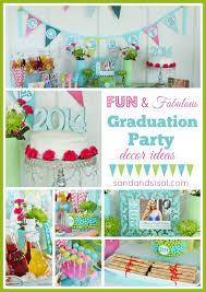 graduation party ideas sand and sisal