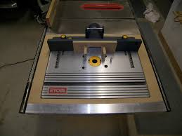 table saw router combo ryobi table saw router combo best table decoration