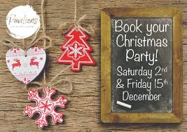 christmas party night event harrogate north yorkshire