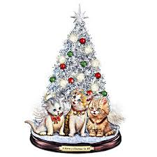 tabletop christmas tree tabletop christmas tree a meow y christmas to all tabletop