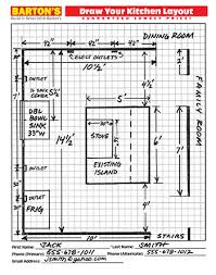 how to plan cabinets in kitchen measuring for new kitchen cabinets barton s