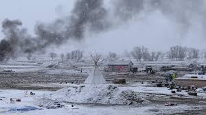 Six Flags In Winter Protesters Leave Dakota Access Pipeline Area Some Stay And Are