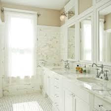 Bridge Faucet Bathroom by New York Marble Basketweave Tile Bathroom Traditional With Vintage