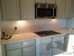 interior diy mother of pearl backsplash for your kitchen