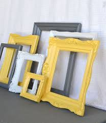 Yellow Decor Ideas Best 25 Yellow Picture Frames Ideas Only On Pinterest Picture