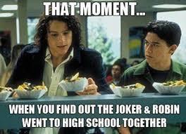 Joseph Gordon Levitt Meme - 10 things i hate about you batman crossover my batman wall