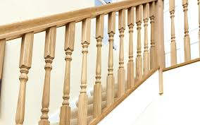 Oak Stair Banister The Uk U0027s Largest Range Of White Oak Stair Spindles In Many Great