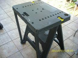 stanley folding work table outlets for my work bench folding collapsable pinterest bench