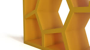 Libreria Opus Incertum by Opus Shelving Great Fun And Creative Face Shelving By Alexi