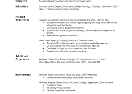 Basic Resume Format Examples by Basic Resume Examples Samples