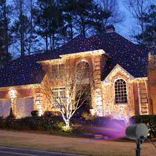 astonishing lightsrt projector on house