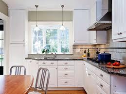 kitchen sink bay window treatments