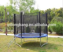 10ft round large trampoline and trampoline bed with safety net