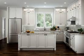 RTA Iceberg White Shaker Cabinets Kitchen Cabinet Mania - Shaker white kitchen cabinets