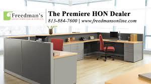Office Furniture Online Hon Abound Freedman U0027s Office Furniture Youtube