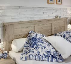 Schlafzimmer L Ten Doppelbett In Eiche Dekor Mit Hohem Kopfteil Und Fußteil Catio