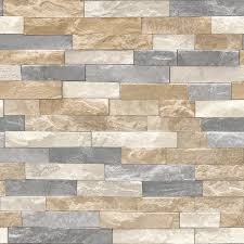 Tile Wallpaper Brick Wood Tile Wallpaper