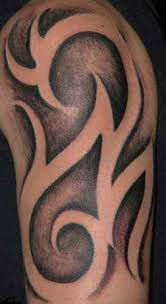 tribal half sleeve tattoo close up tattoomagz