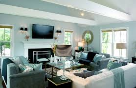 living room brilliant gray and aqua blue contemporary white ideas