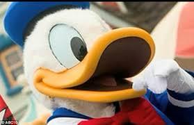 family accuses disneyland racism donald duck