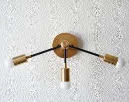 Gold Vanity Light Free Shipping Wall Sconce Vanity Gold Brass 2 Bulb Modern