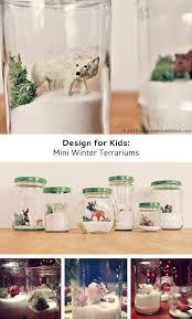 mini winter terrariums babble dabble do