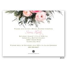 wedding shower invitations ethereal garden bridal shower invitation invitations by