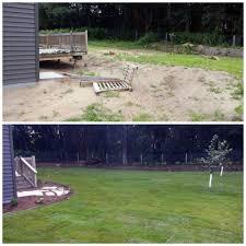 10 before and after landscape pictures kg landscape management
