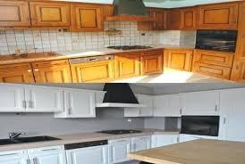relooker cuisine en chene cuisine rustique chene renover cuisine rustique lovely renovation
