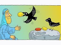 free visuals elijah and the ravens god looks after elijah by