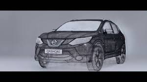 27 best 3doodler creations by nissan draws qashqai using only 3doodler 3d pen technology youtube