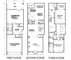 3 story townhouse floor plans 3 story townhouse floor plans town plans townhouse