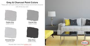 grey u0026 charcoal paint colors