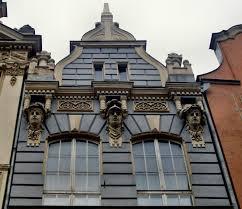 file building ornaments at długa 69 in gdańsk jpg