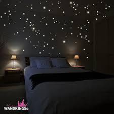 chambre ciel étoilé amazon adhésifs muraux wandkings 250 pièces points lumineux pour