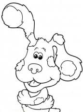 15 striking blues clues coloring pages fun coloring ideas