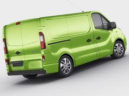 renault minivan 3d renault trafic 2015 panel van cgtrader