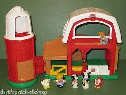 Little Tikes Barn Fisher Price Little People Animal Sounds Barn Farm Set With Silo 5