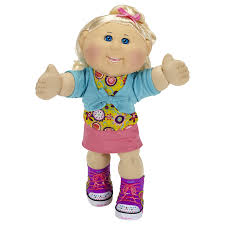 cabbage patch kids caucasian blond blue amazon co uk