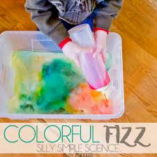 colorful fizz simple toddler science busy toddler