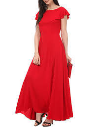 dress pic buy solid gown dress by stark online shopping for